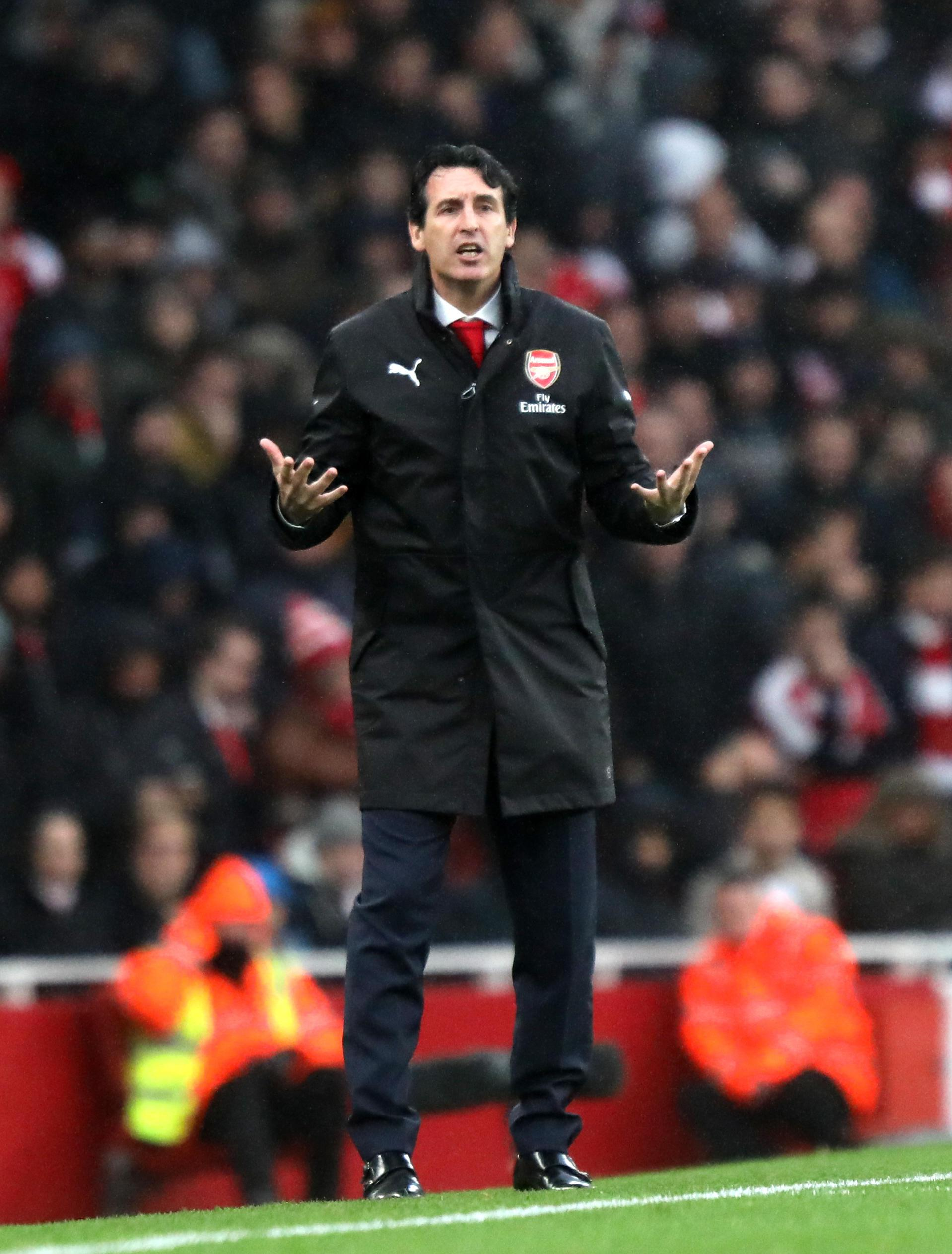 Emery will hope his side can contunie their winning form against United