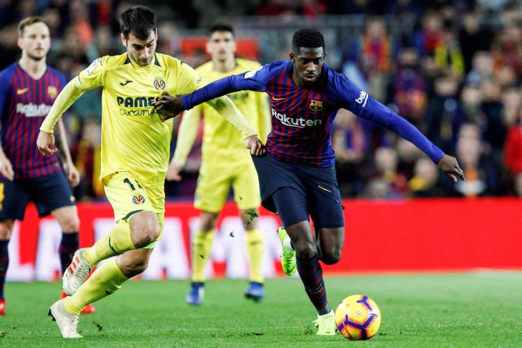 Ousmane Dembele is on the radar of both Arsenal and Liverpool