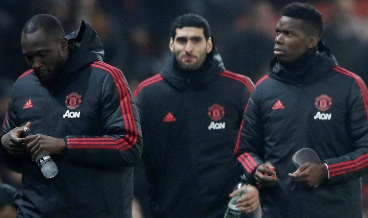 Two big names and one former big mane were left on teh bench as Jose Mourinho sidelined Romelu Lukaku, Marouane Fellaini and Paul Pogba