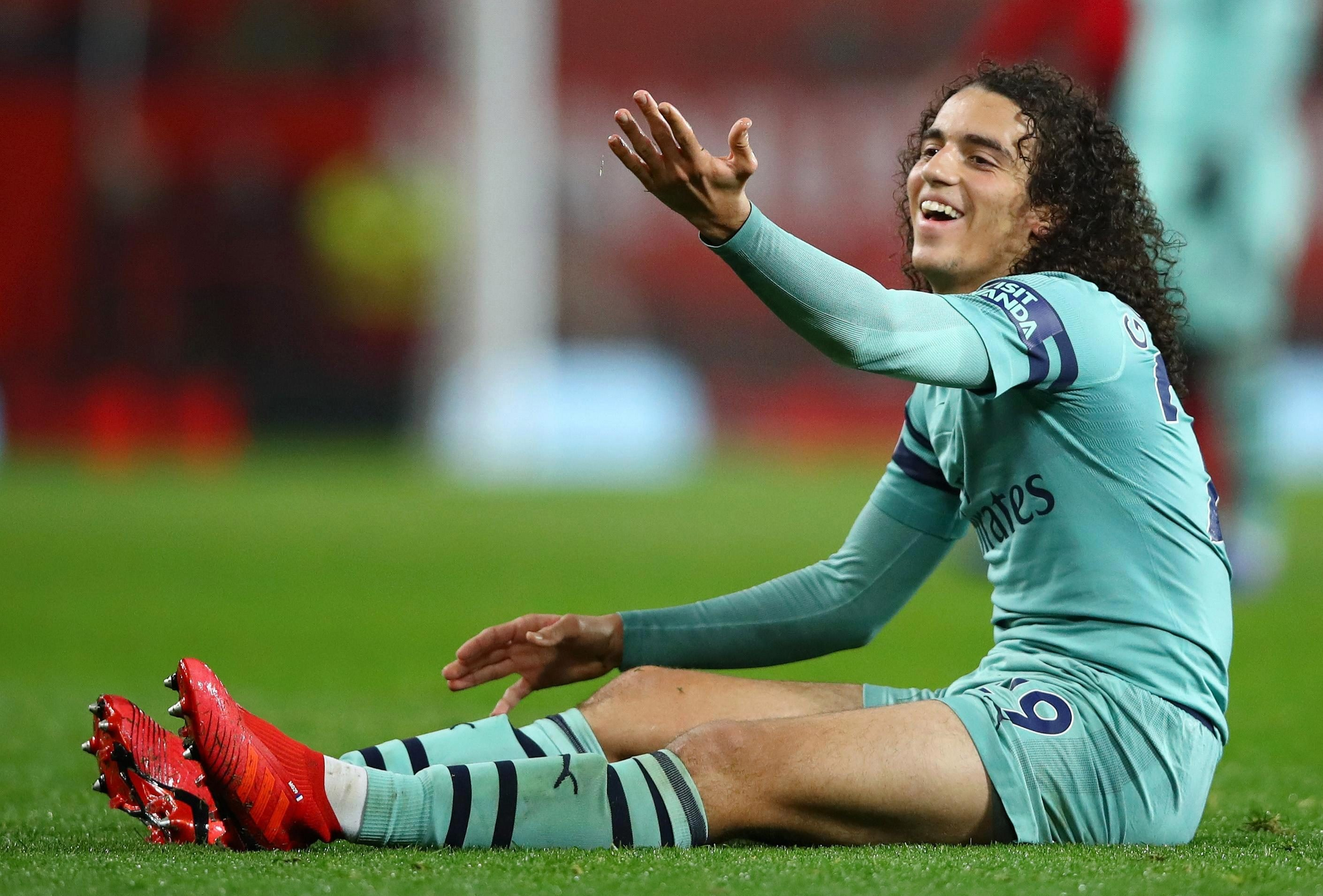 He suggested it was wrong to single out Matteo Guendouzi though as the youngster was also involved