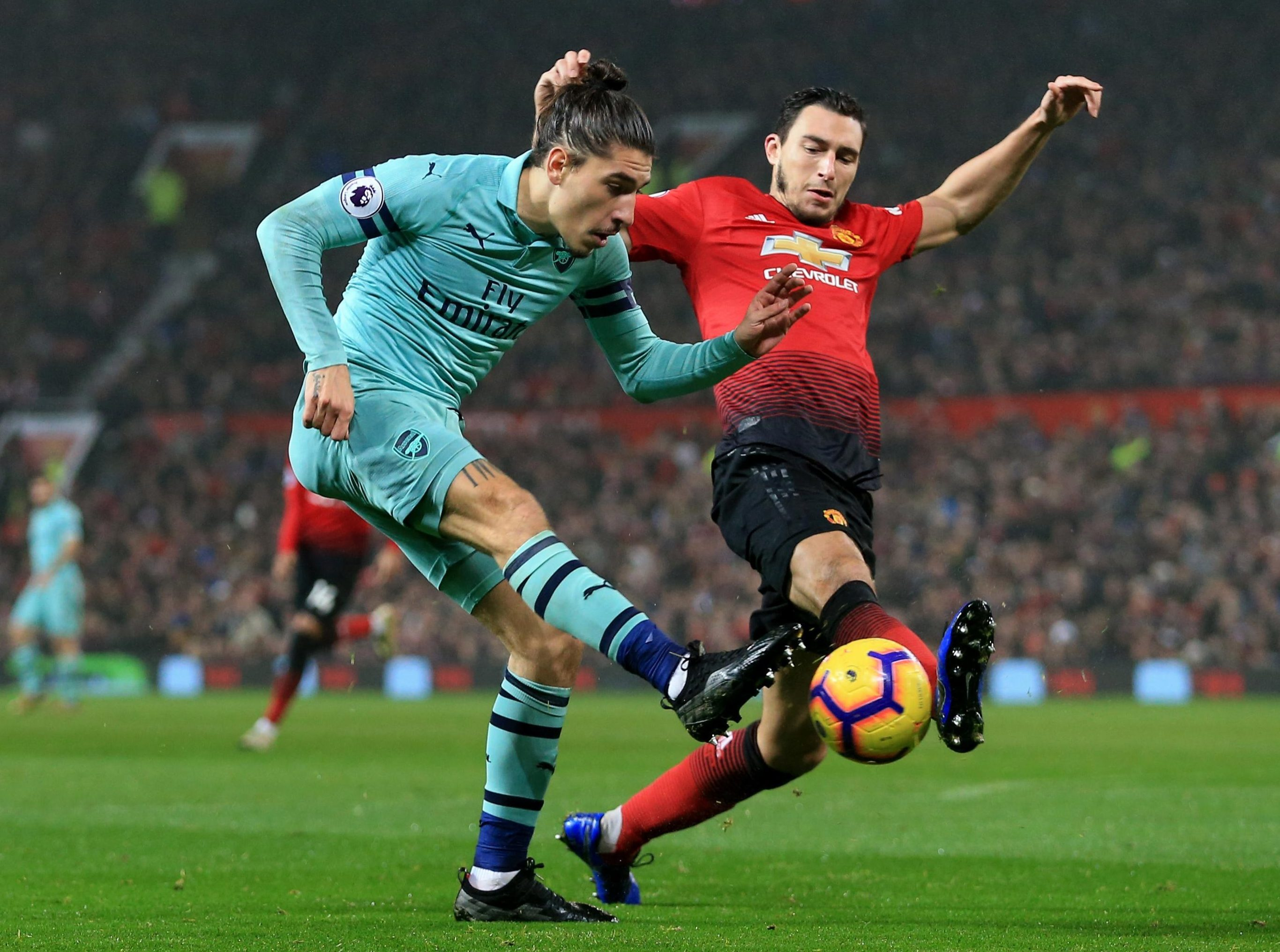 Darmian has struggled for game time under Mourinho- a loan spell could provide him with more game time and a way out
