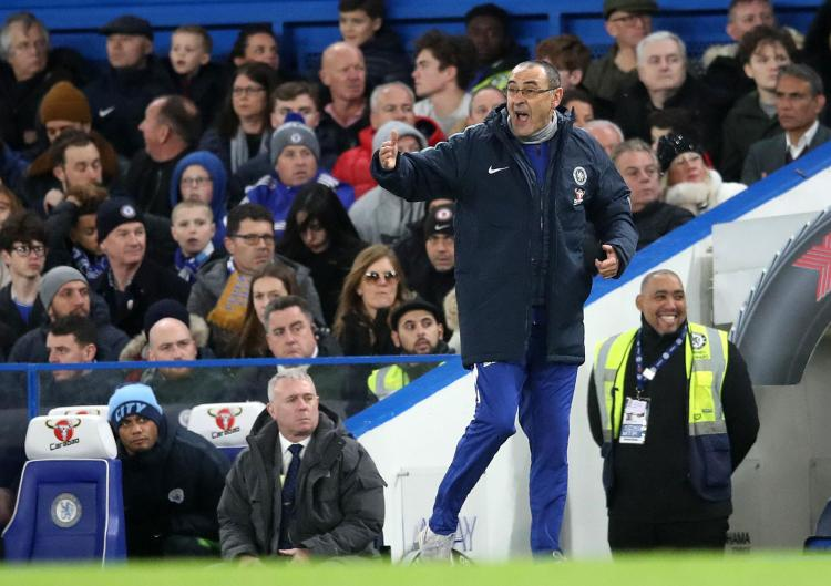 It was a match to remember for Maurizio Sarri