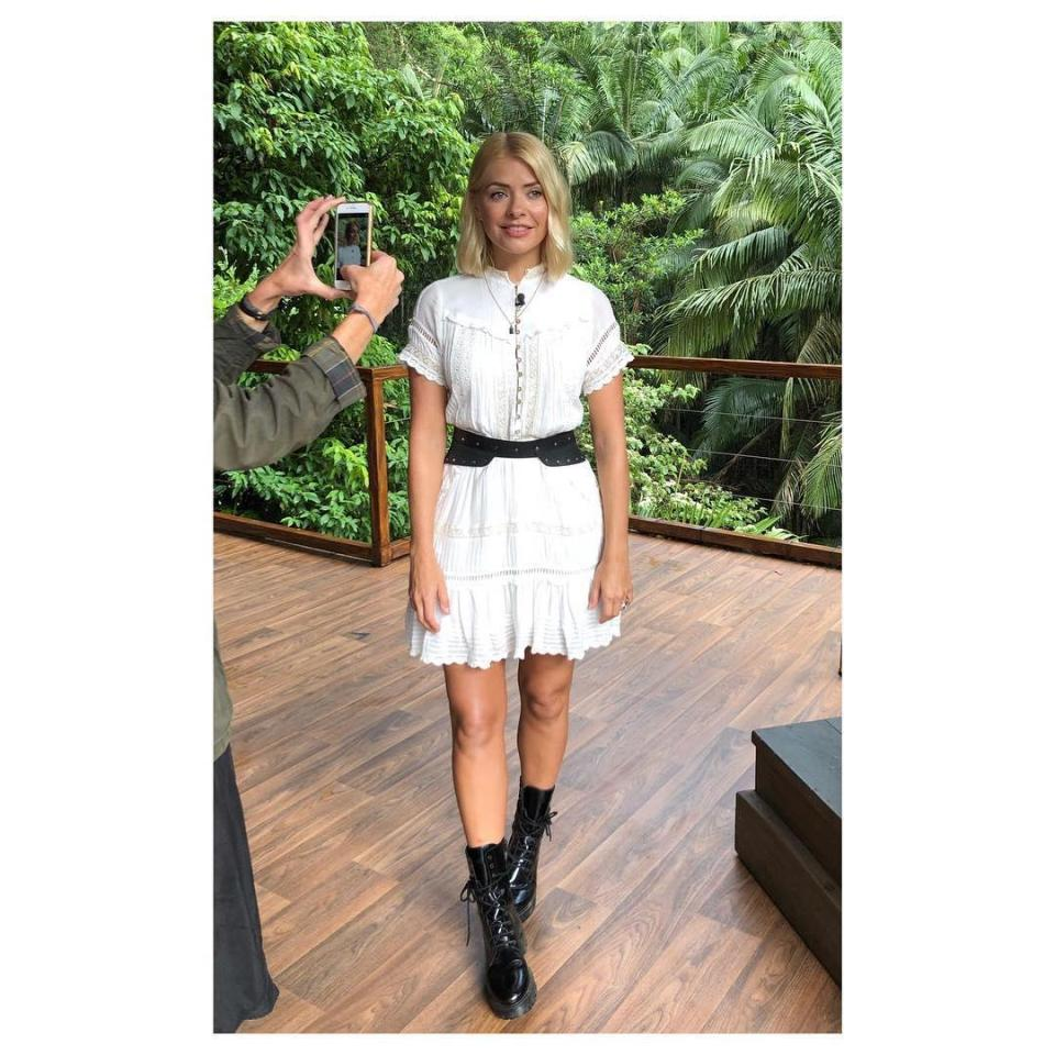 Holly Willoughby, I'm A Celebrity 2018