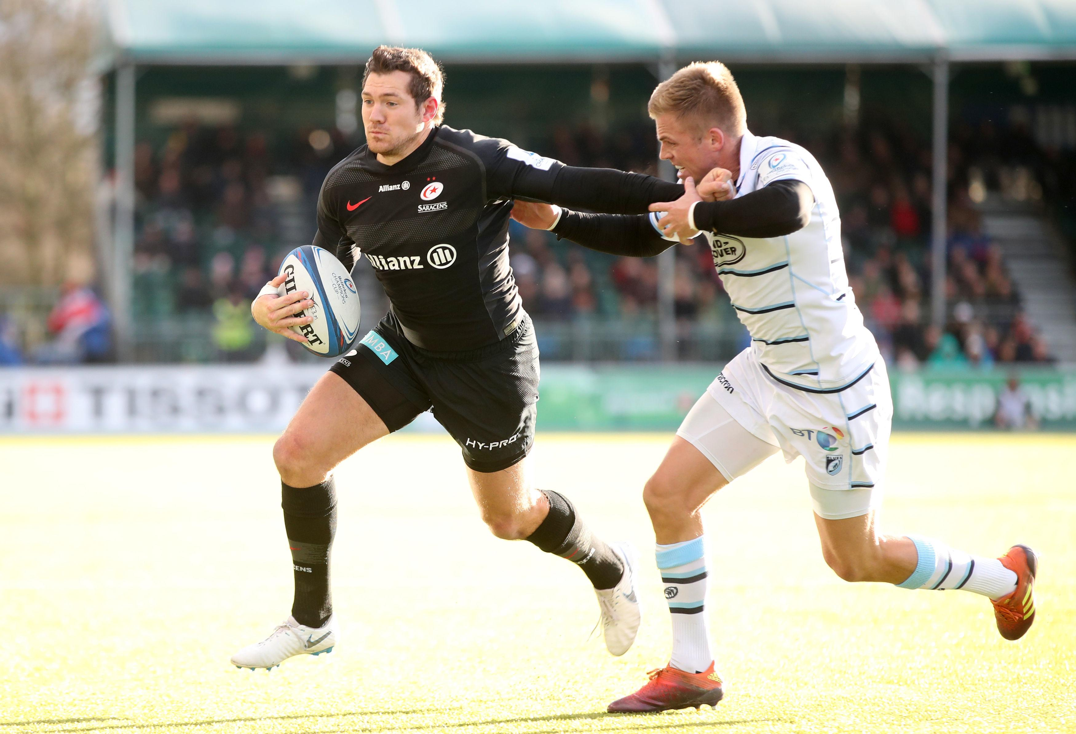 Saracens put over half a century of points on Cardiff last weekend