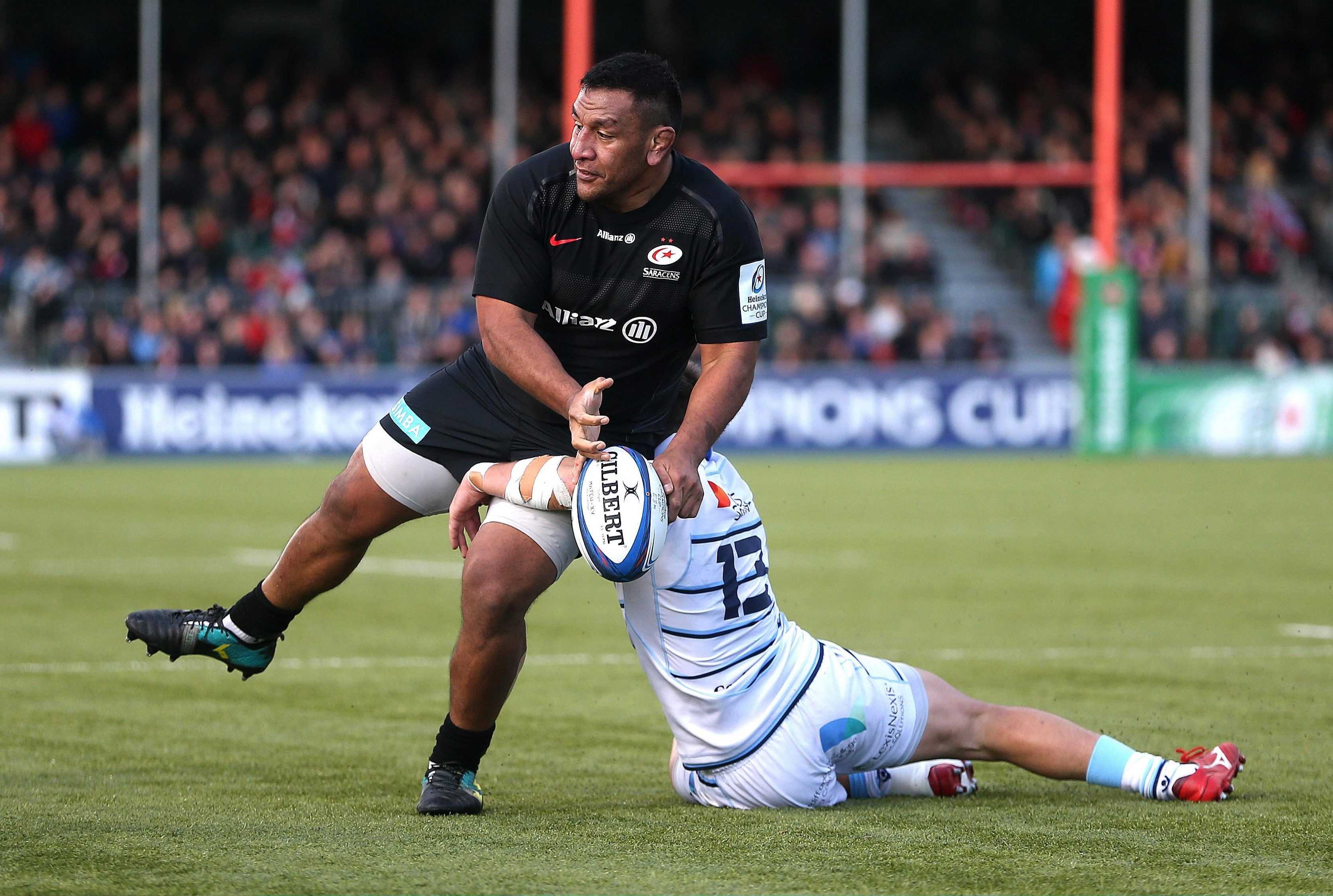 Vunipola is looking to force his way back into the England reckoning