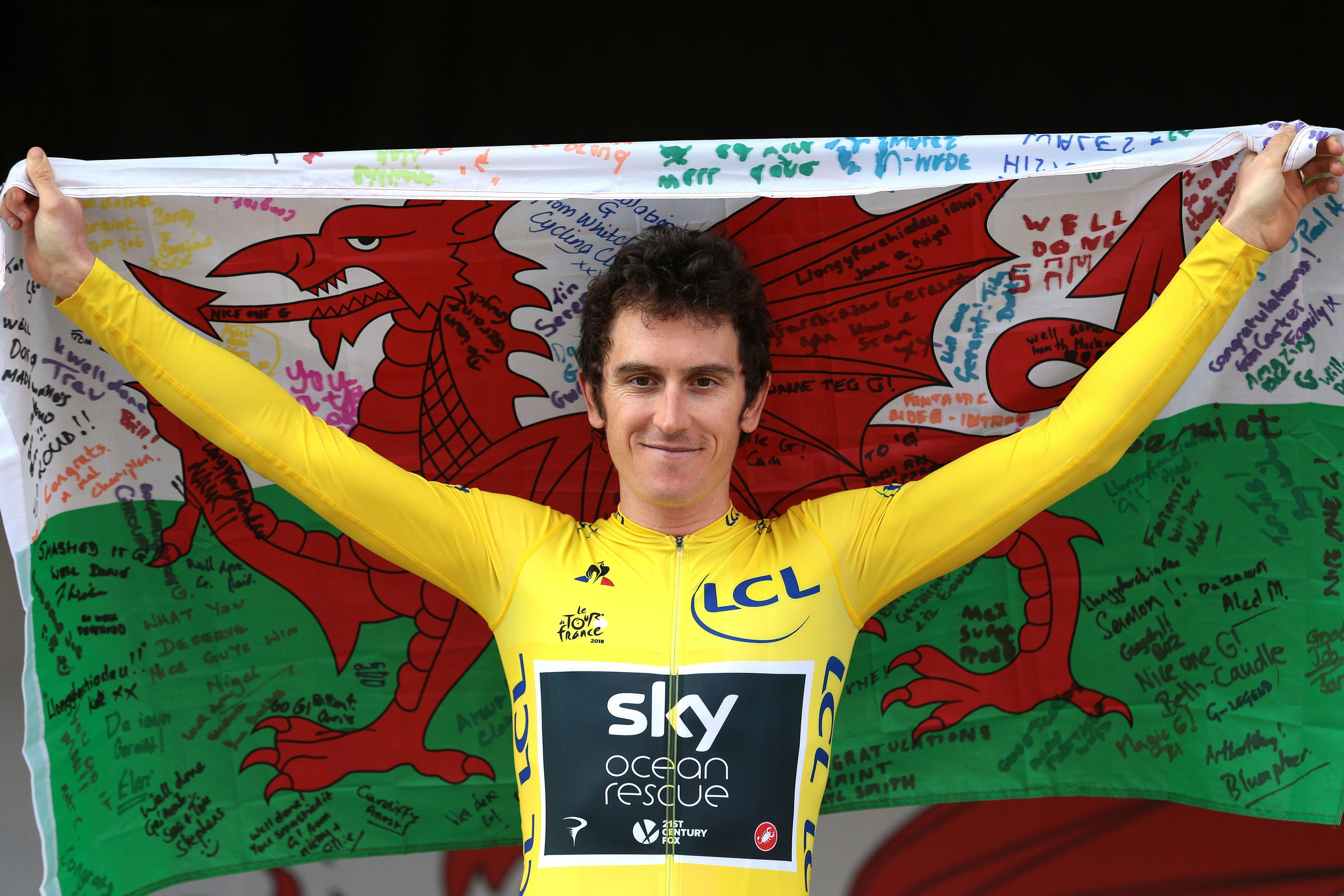 Geraint Thomas is amongst favourites to win BBC Personality of the Year award tonight