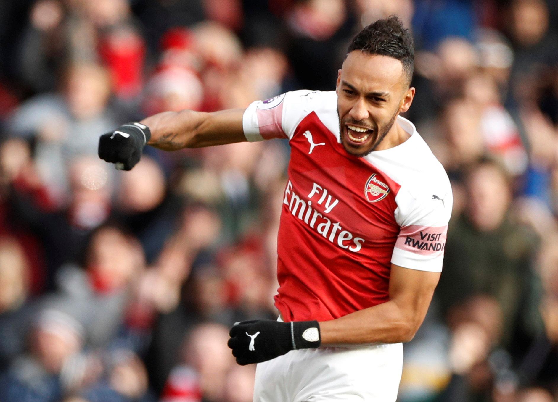 The striker is Arsenal's top goalscorer this season