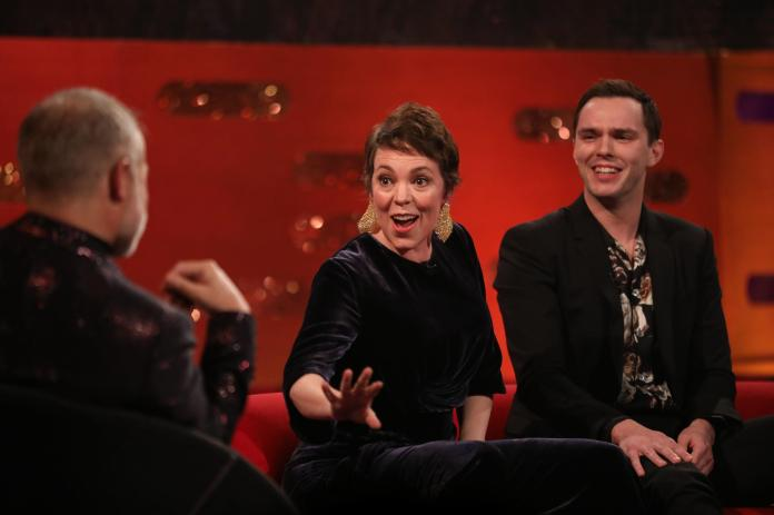 Olivia reveals all on the New Year's Eve episode of the Graham Norton Show