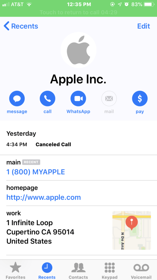 Fake Apple ID