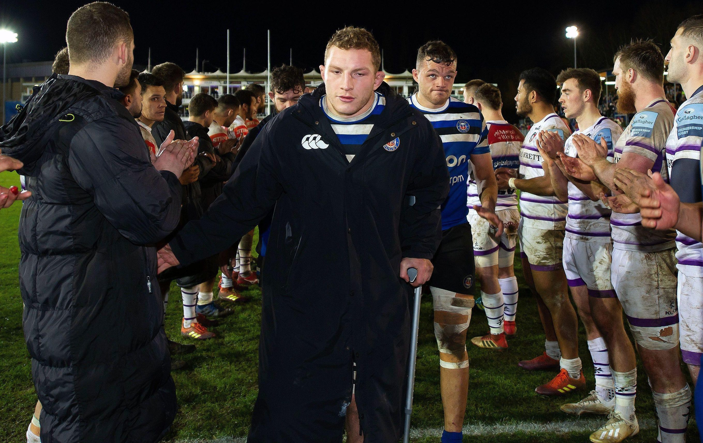 Sam Underhill is out for England's first two Six Nations openers