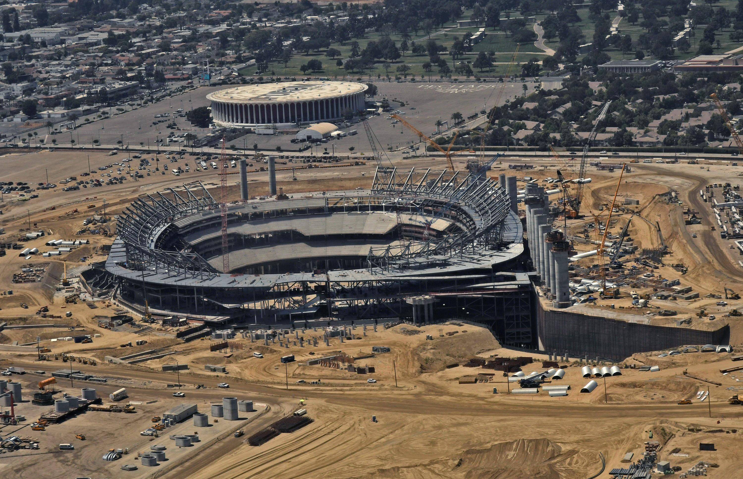 LA's new stadium will be ready for the 2020 NFL season to host both the Rams and Chargers