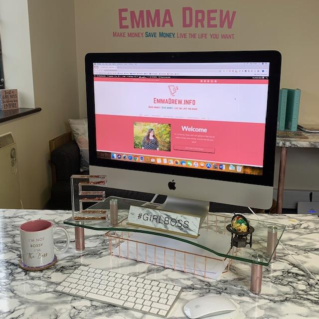 Emma quit her full time job when she started making more as a money blogger
