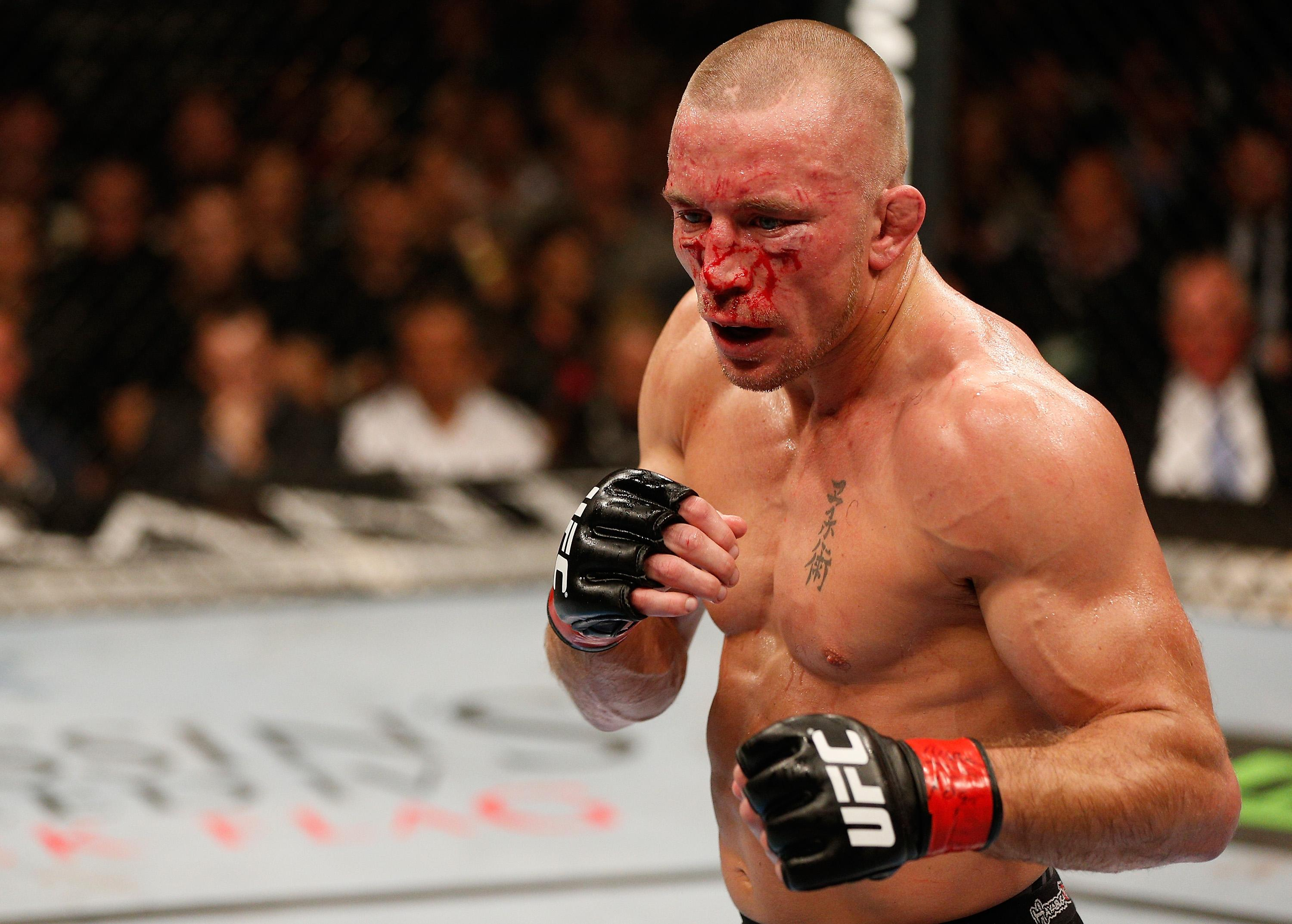 St Pierre is a former UFC welterweight and middleweight champion and considered one of MMA's all time greats