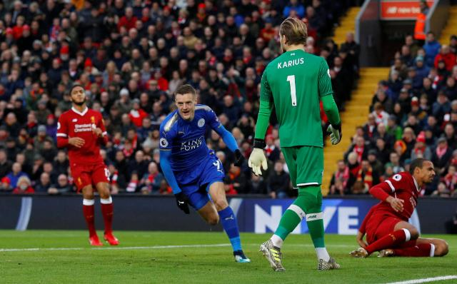 Jamie Vardy has an incredible goalscoring record against Liverpool