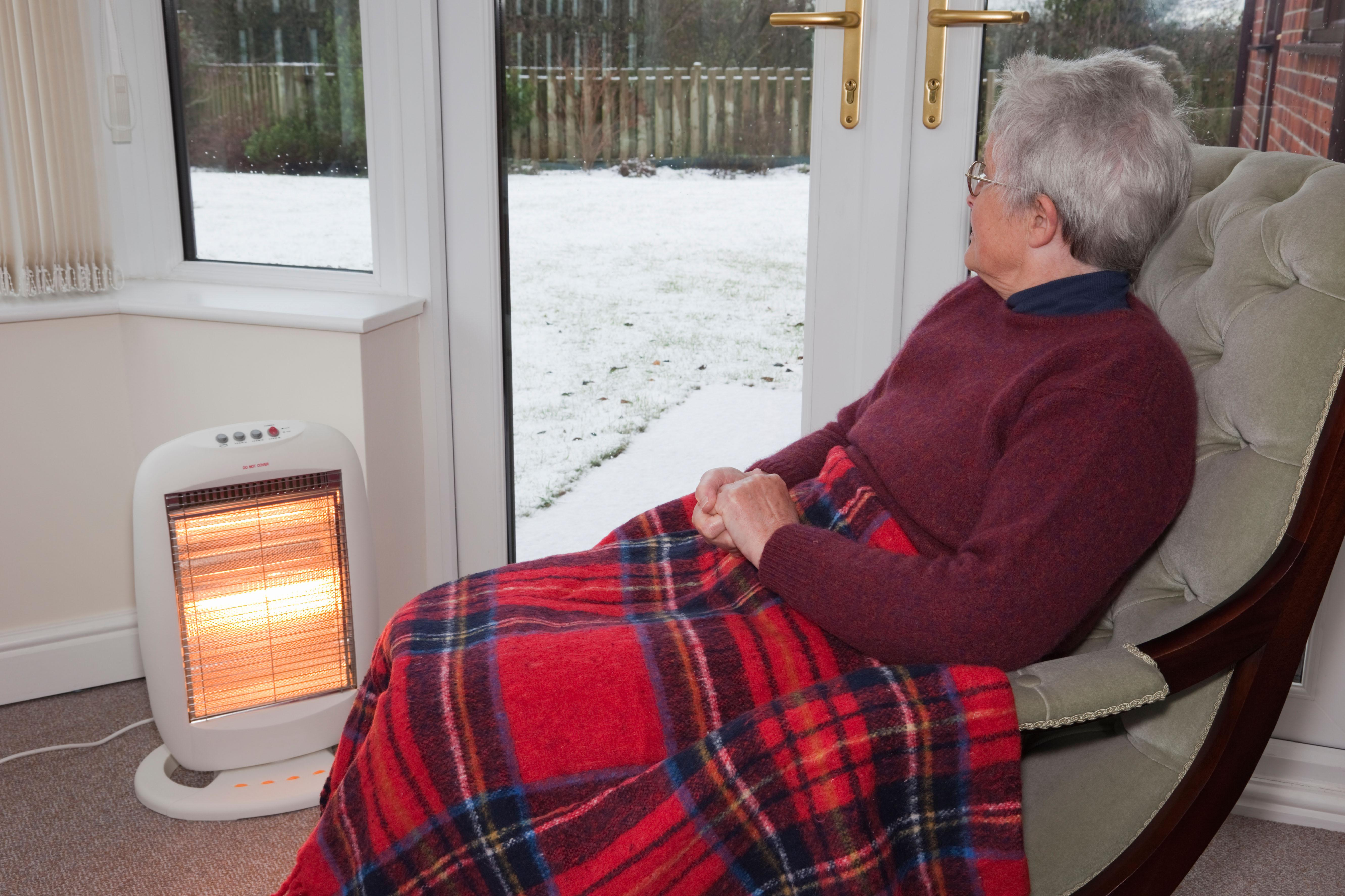 When the temperature drops some people need help keeping their homes warm