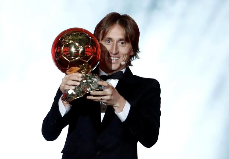 Ballon dOr winner Luka Modric picked up more votes than any other star