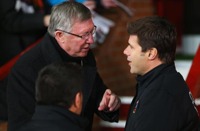 Pochettino did not even attempt to cover his admiration for Manchester United legend Sir Alex Ferguson