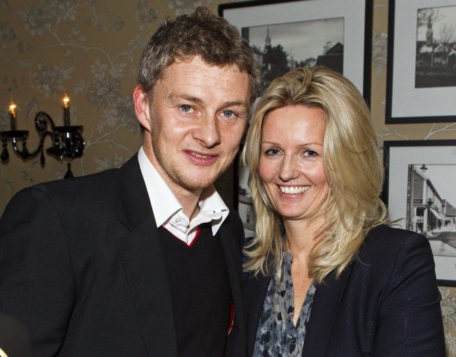 Solskjaer and his wife Silje are familiar with Manchester already