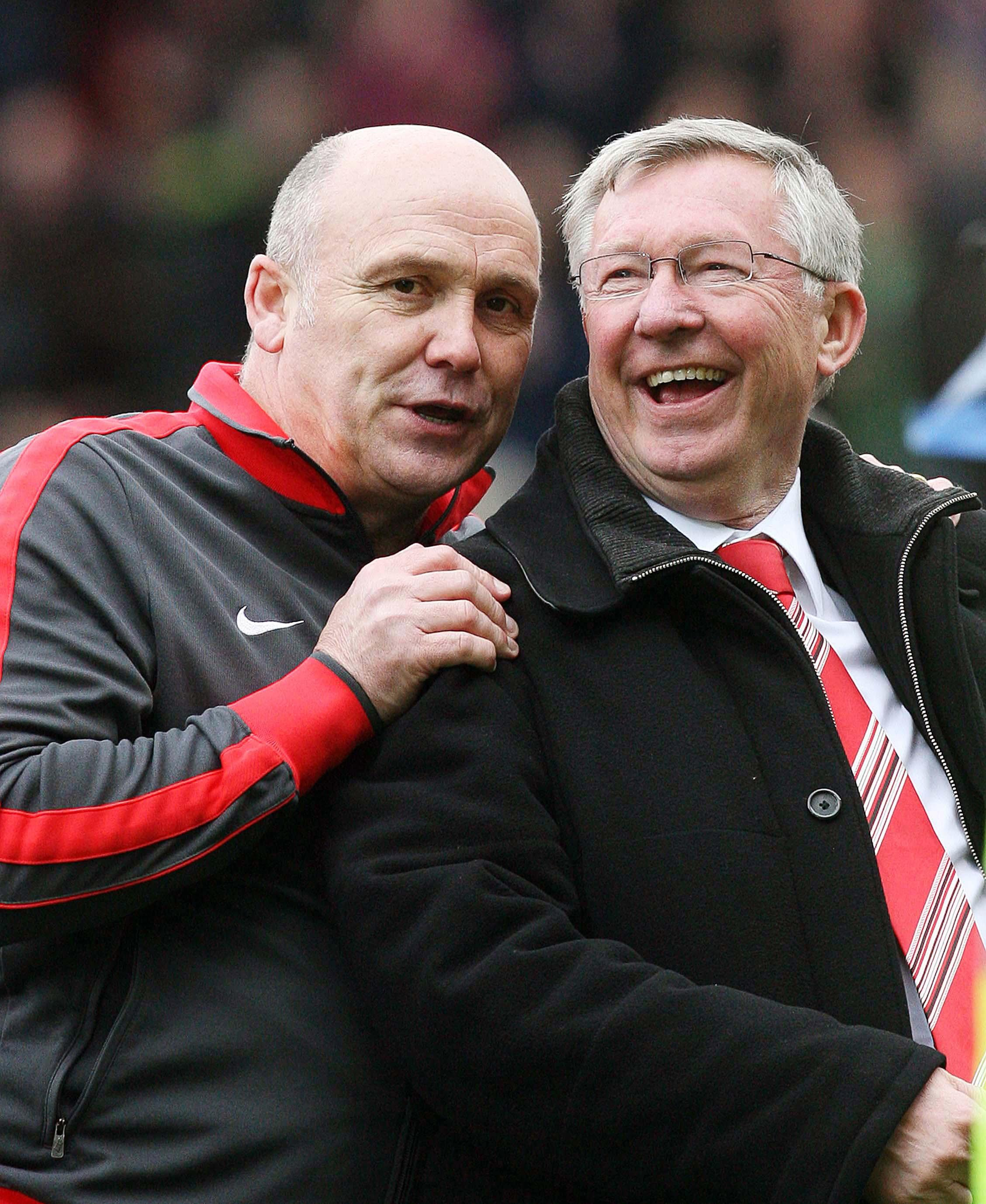 Phelan boasts plenty of success and was Fergie's assistant from 2008 to 2013
