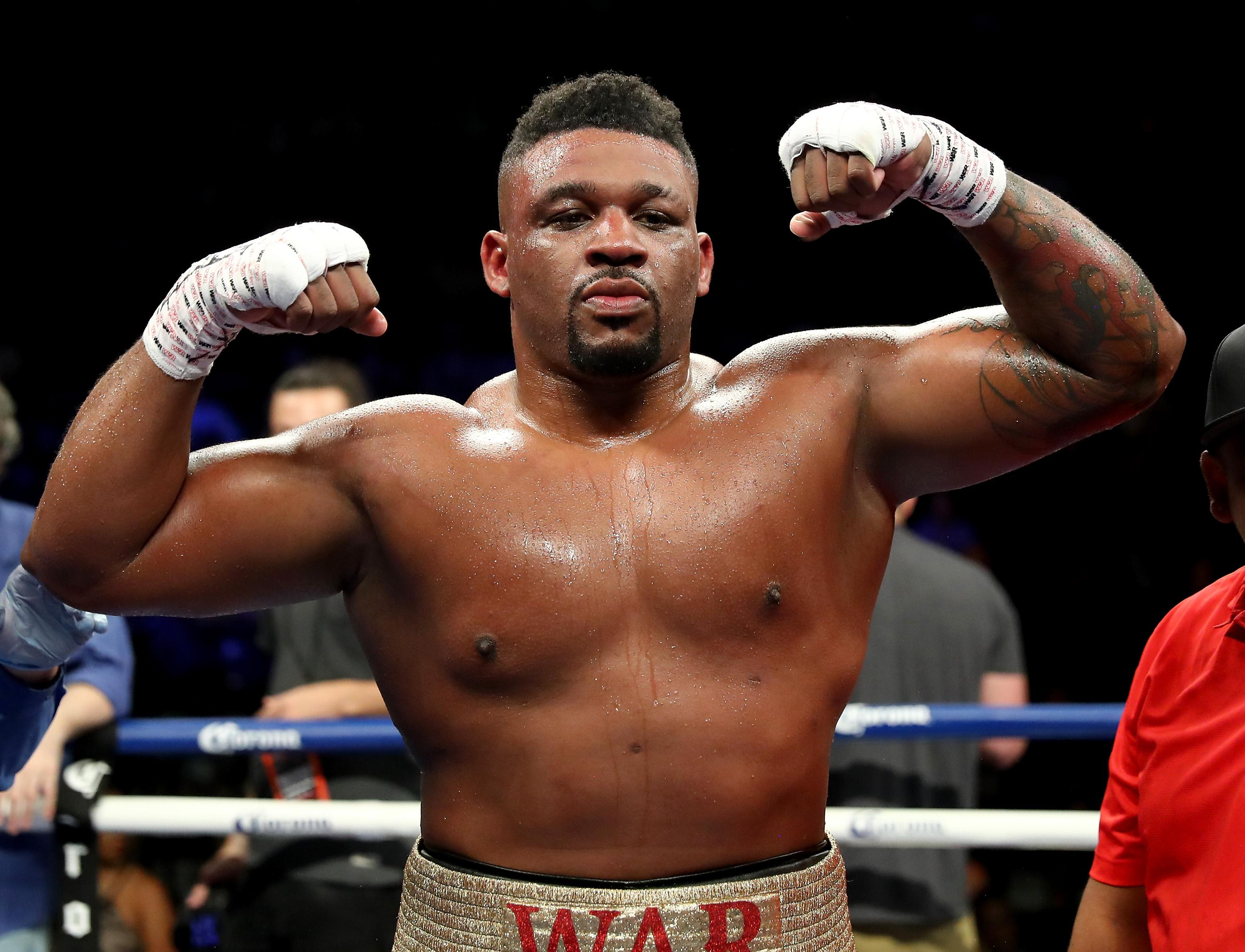 Jarrell Miller's fight this Friday in Madison Square Garden, New York is now off the cards