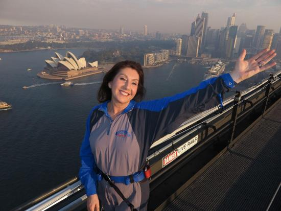 Jane McDonald in Sydney, Australia