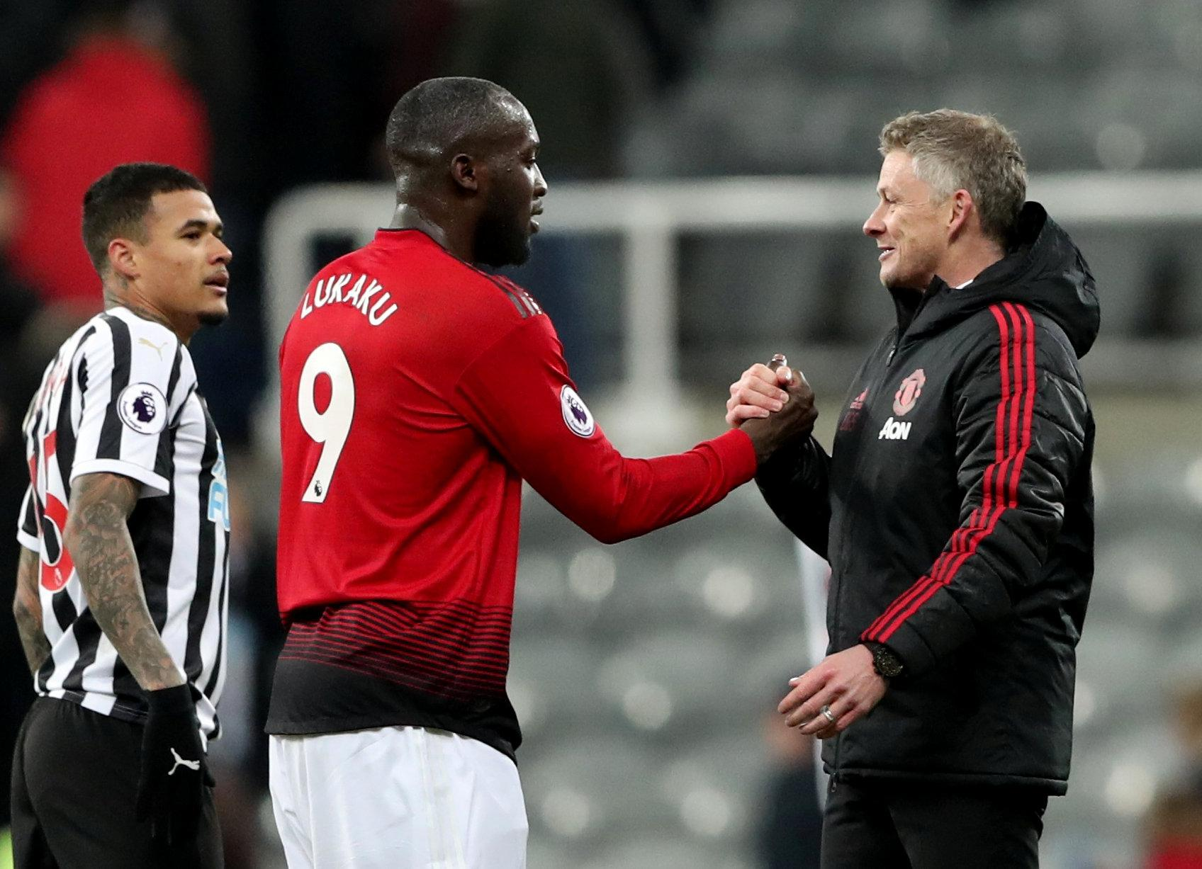 And Lukaku is enjoying being part of Ole Gunnar Solskjaer's squad chasing down Champions League spot