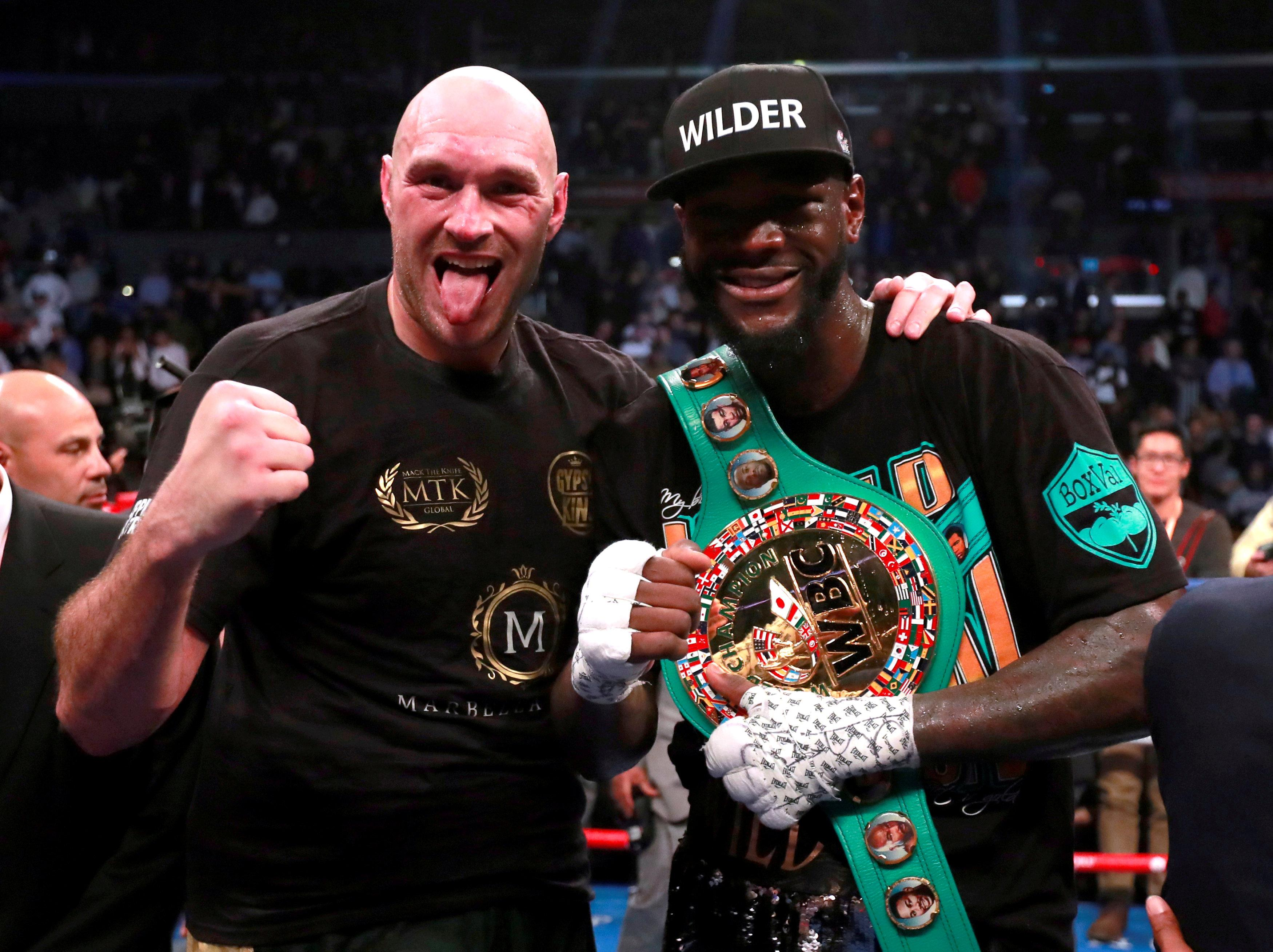 A deal with Deontay Wilder looks impossible at present while Tyson Fury rejected the latest offer from Eddie Hearn
