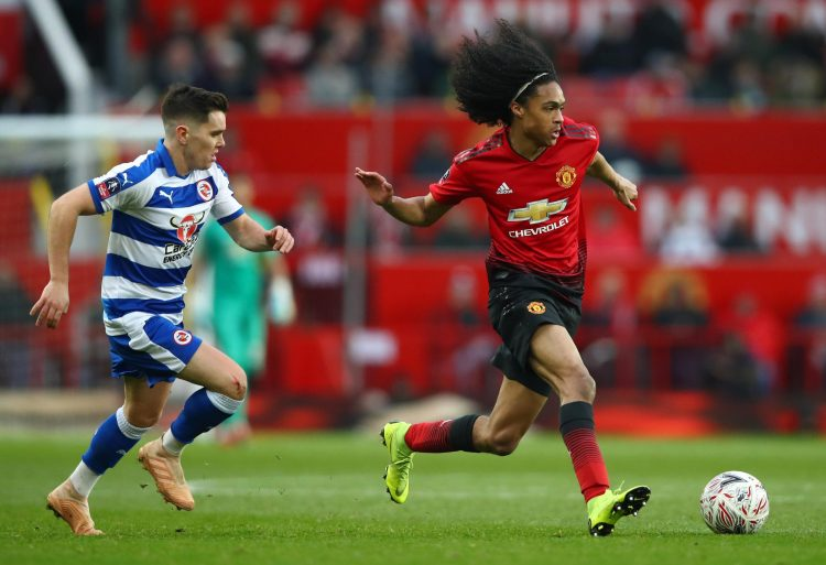He showed good pace, intent and quality against Reading after replacing Juan Mata at Old Trafford