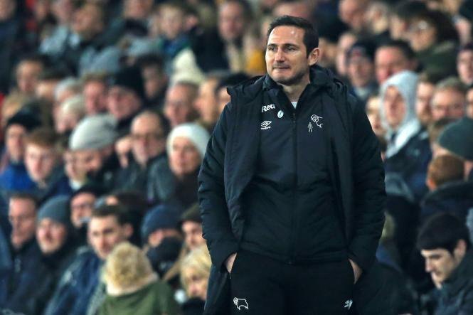 Frank Lampard's Derby are set to take on Leeds tonight in the Championship