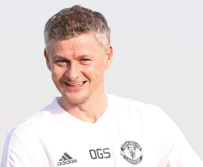 Ole Gunnar Solskjaer has been working hard with his young striker to help improve his finishing