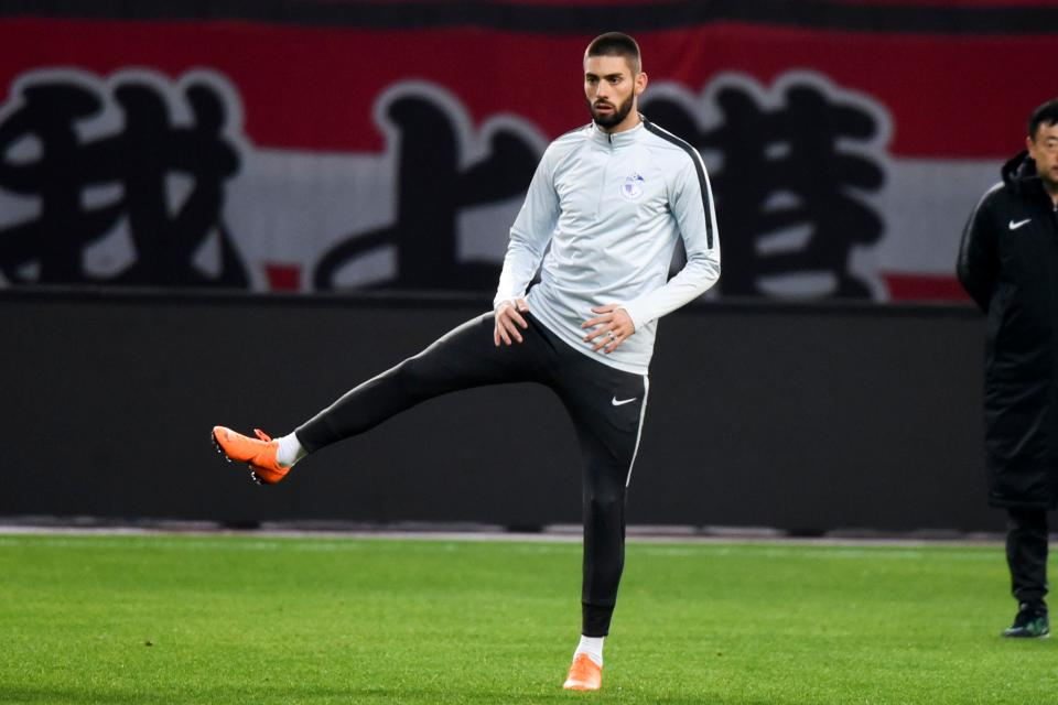 The Belgian winger is desperate to quit the Chinese Super League after being unable to settle in the Far East
