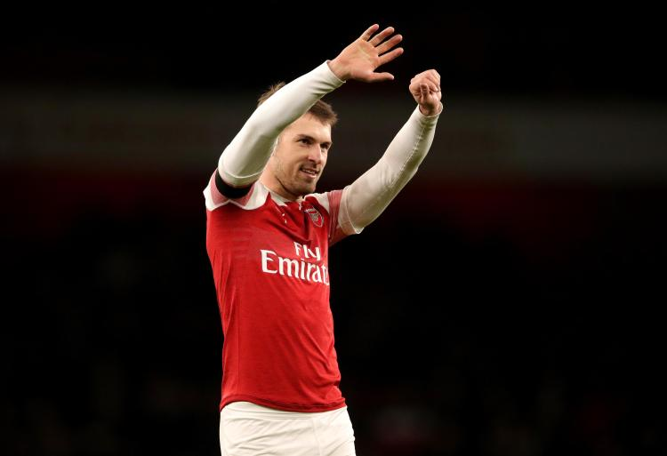 Aaron Ramsey could leave for Juventus this month... for £18million
