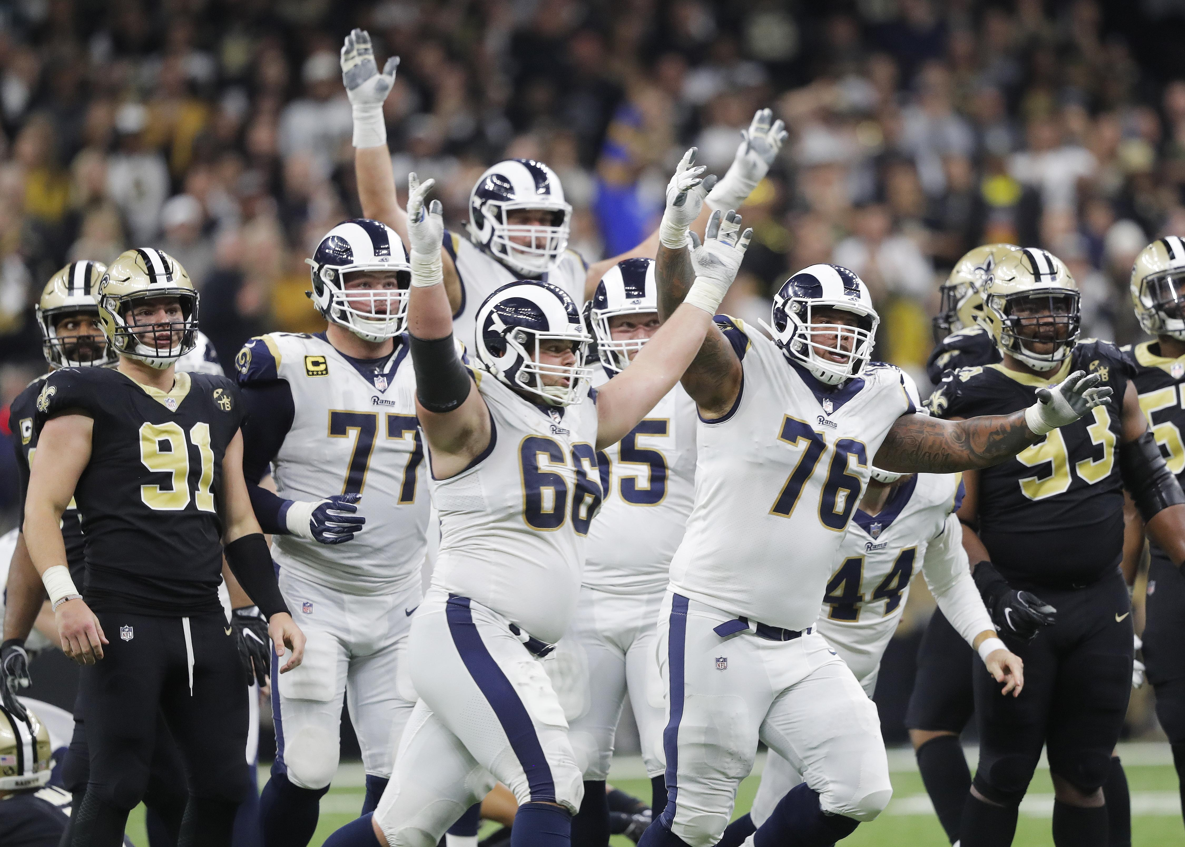 LA Rams beat New Orleans Saints to book their spot in the 2019 Super Bowl