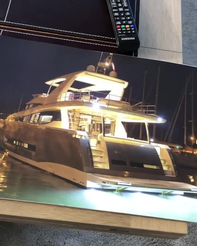 The yacht will be 20 meters long and include four cabins