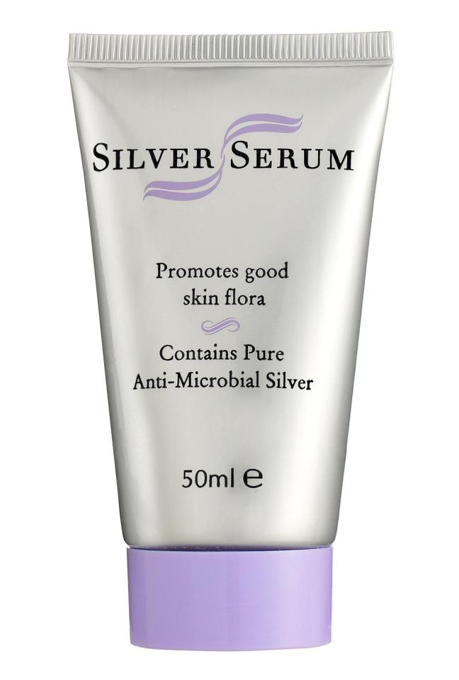 Silver Serum is the first'smart' anti-acne treatment that specifically kills bad bacteria while leaving the good stuff still in place