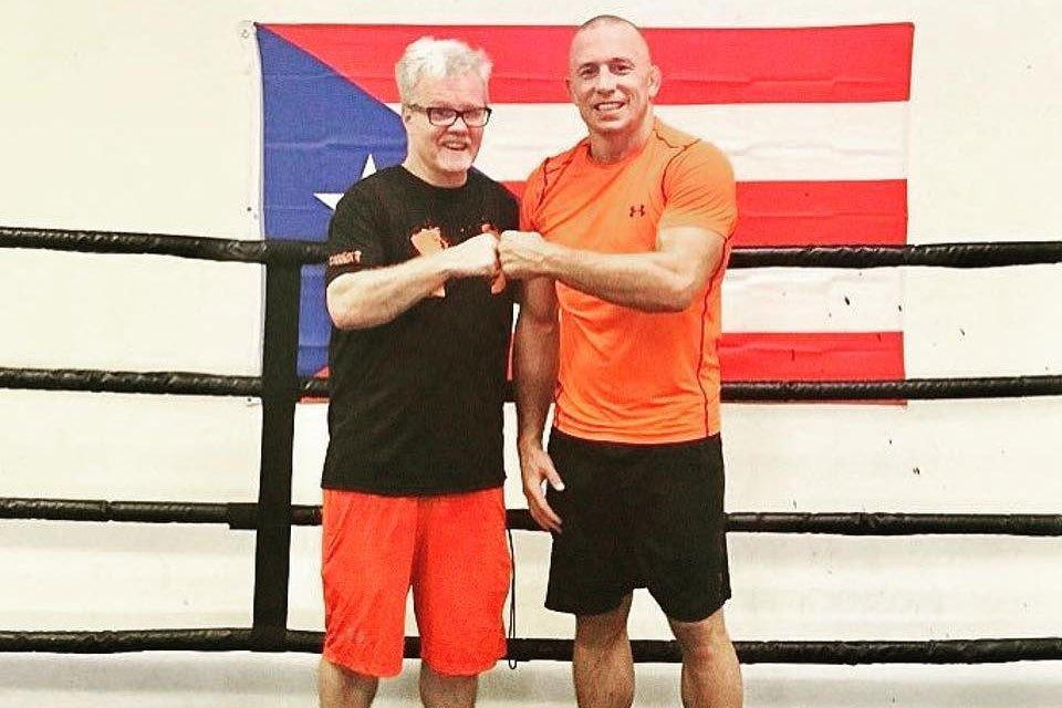 Freddie Roach has worked with Georges St-Pierre since 2010 as part of his boxing training