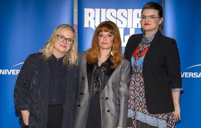 Amy Poehler, Leslye Headland and Natasha Lyonne