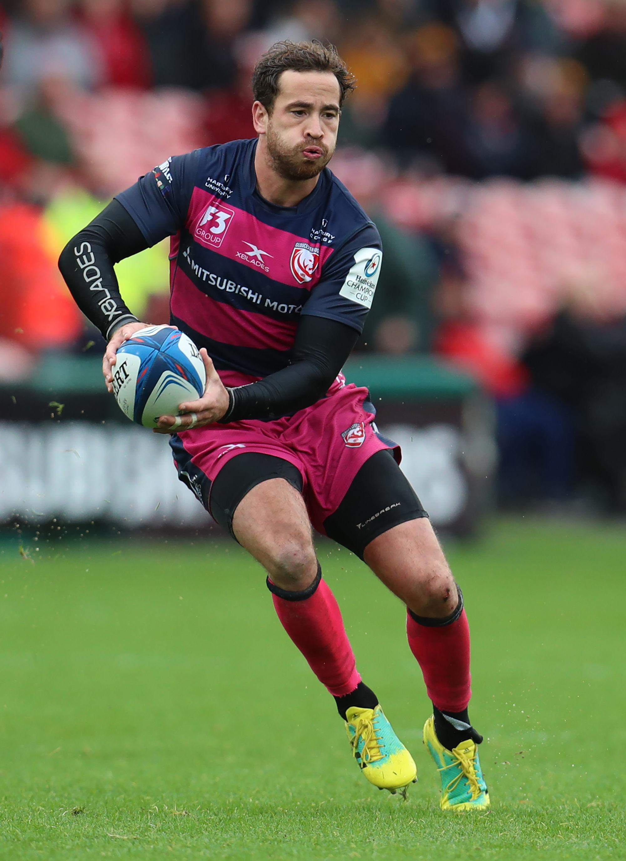 Danny Cipriani is back For Gloucester after tearing a pec muscle