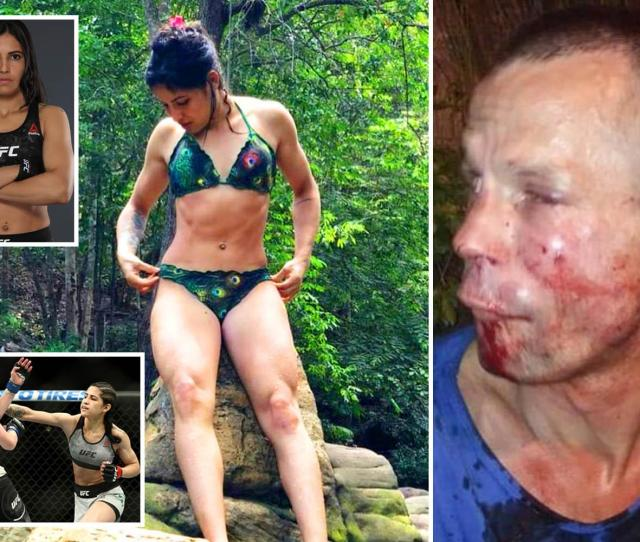 Ufc Star Polyana Viana Beats Up Armed Mugger So Badly He Begs Her To Call The Police