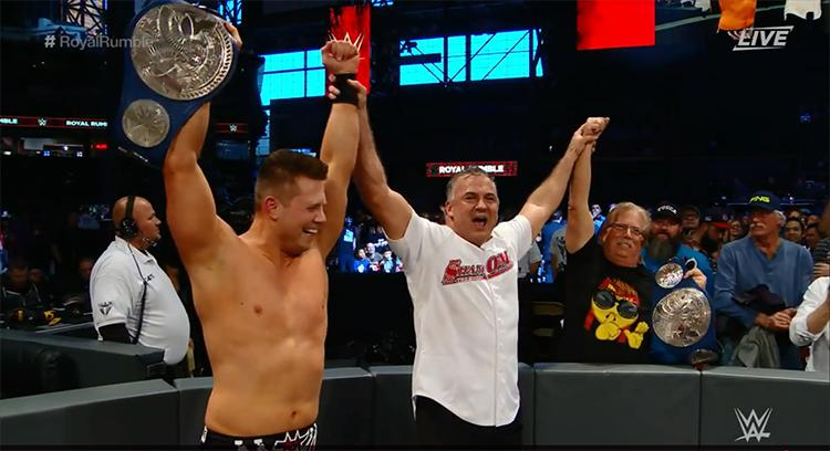 Miz & Mac became new SmackDown Live tag-team champions