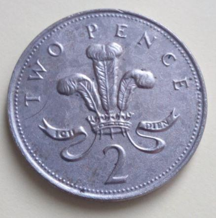 This rare copper-less coin fetched more than £7 on eBay - way above its original value