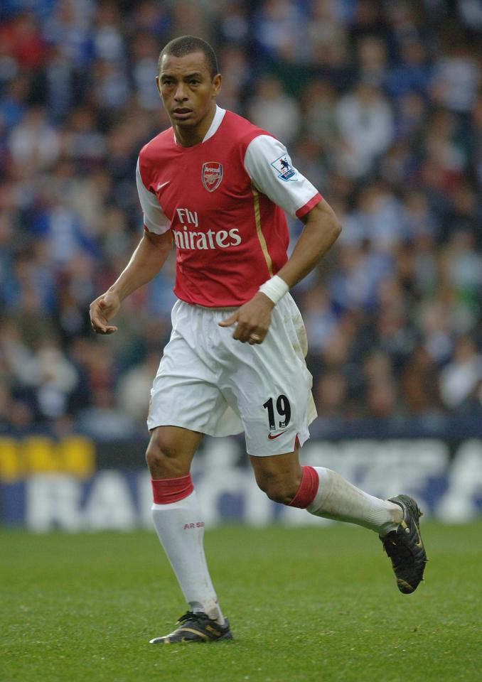 The Brazilian made 170 Premier League appearances for the Gunners between 2002 and 2008