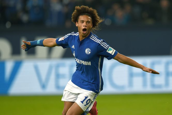 The winger joined Manchester City from their Champions League last-16 opponents Schalke in 2016