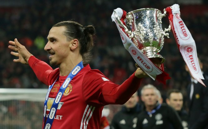 Ibrahimovic bagged the winner in the 2016 League Cup final