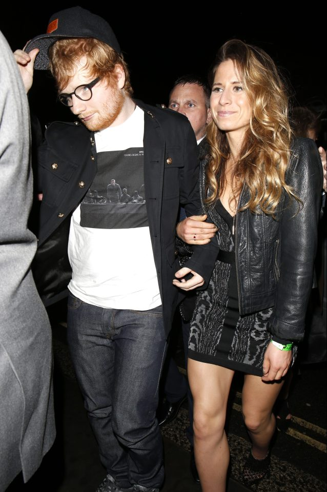 Ed Sheeran and Cherry Seaborn began officially dating in 2015