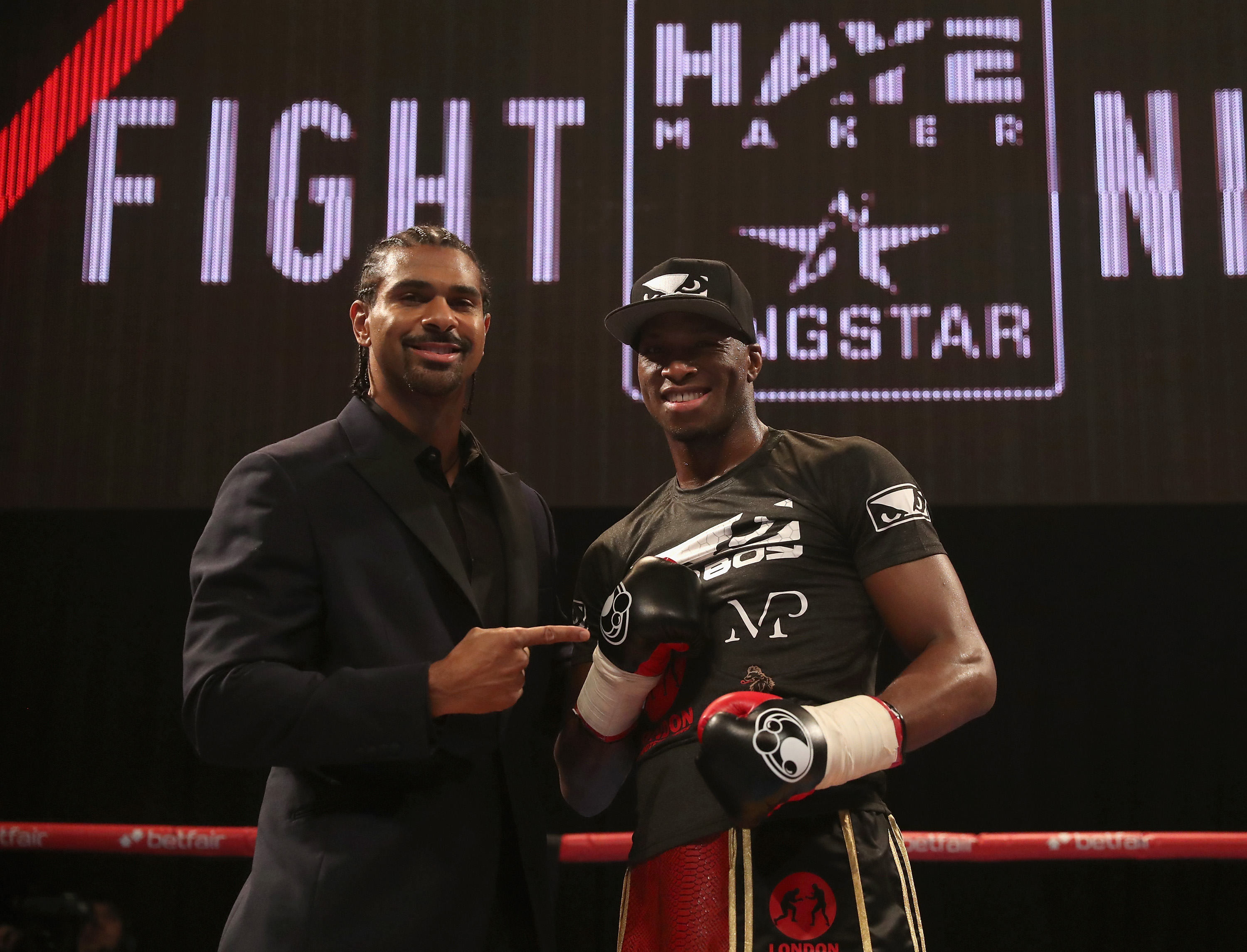 Venom Page is currently signed to David Haye boxing promotion and stands 2-0 as a professional