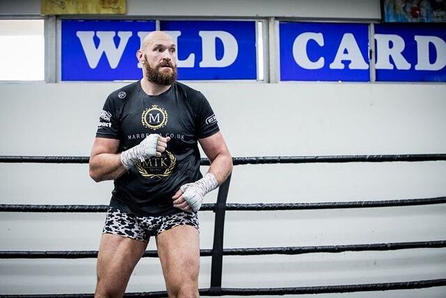 Fury claims he hired Miller to be his sparring partner and dropped Big Baby seven times