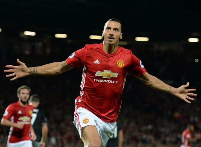 Zlatan Ibrahimovic became United's focal point in Jose Mourinho's first season in charge