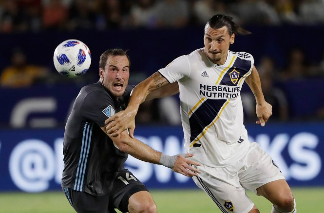 Ibrahimovic and LA Galaxy are about to begin their new MLS season against Chicago