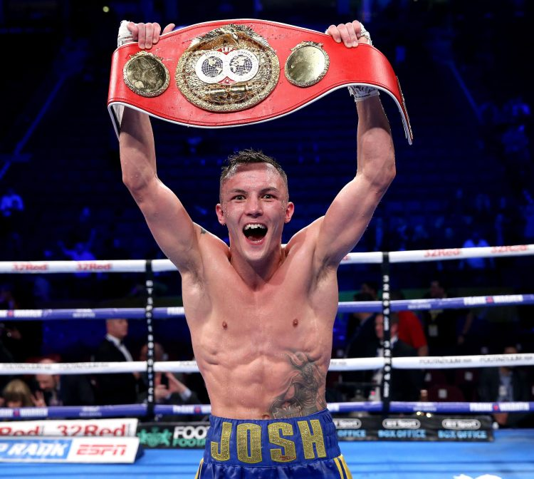 Josh Warrington is the undefeated IBF featherweight world champ and is set to fight Kid Galahad next